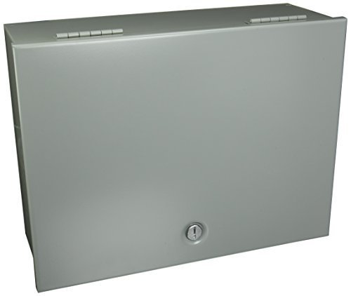 Hoffman A16N126 NEMA 1 Enclosure, Steel, Small, 16.00'' x 12.00'' x 6.00'', Gray