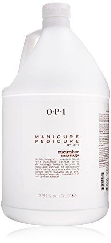 Price comparison product image OPI Manicure Pedicure Cucumber Massage Lotion for Unisex,  128 Ounce