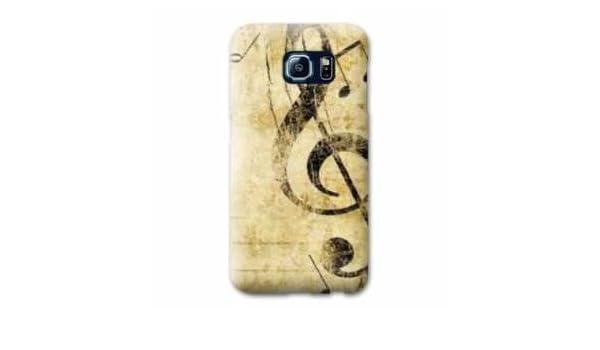 Amazon.com: Case Carcasa LG K4 Musique - - clé sol vintage B ...