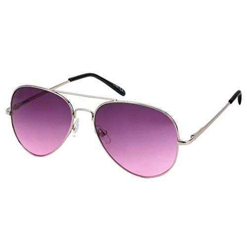 27 sol Gläser Gafas Verlauf hombre lila para silber mit de area17 Rahmen xEX87qEw