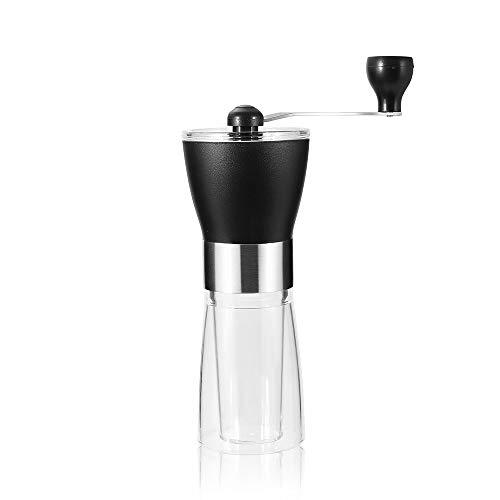 VANVENE Manual Coffee Grinder, Coffee Bean Grinder, Adjustable Hand Grinder, Ceramic Conical Burr Mill, Mini Portable Home Kitchen Travel Coffee Bean Grinder/Coffee Mill for Precision Brewing