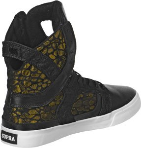 WHITE Noir GOLD SKYTOP SUPRA II Or BLACK Shoes qwUBX8R1