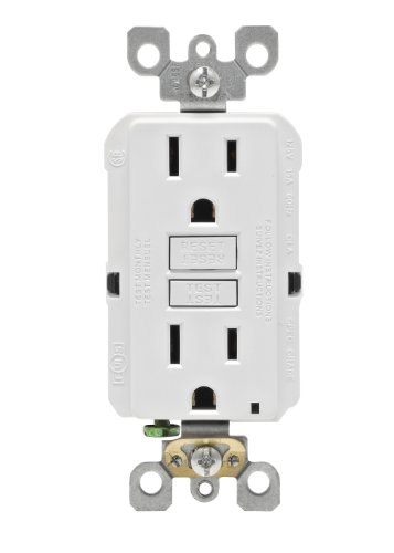 Leviton N7599 W SmartLock Non Tamper Resistant Receptacle