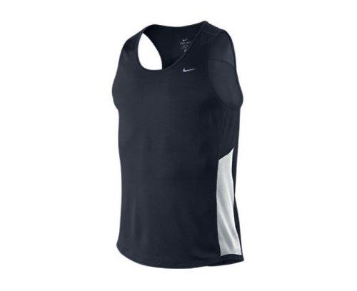 64f88fbd Amazon.com: Nike Dri-Fit Miler Singlet Running Vest - XX Large ...