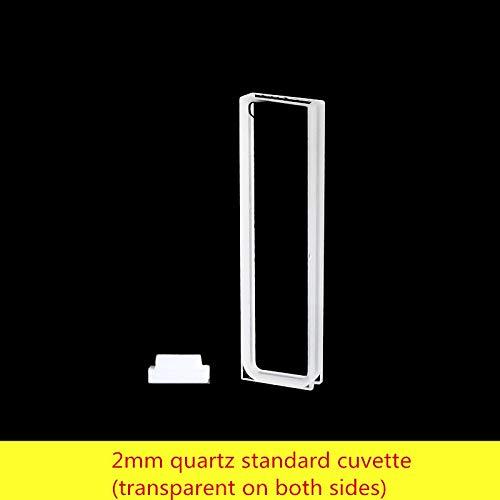 Laliva 2mm quartz standard cuvette (transparent on both sides) - (Color: acid)