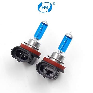 Car Bulbs, HM Xenon Plasma H11 12V 100W Halogen Lamp Headlight White Light Bulbs (a Pair)