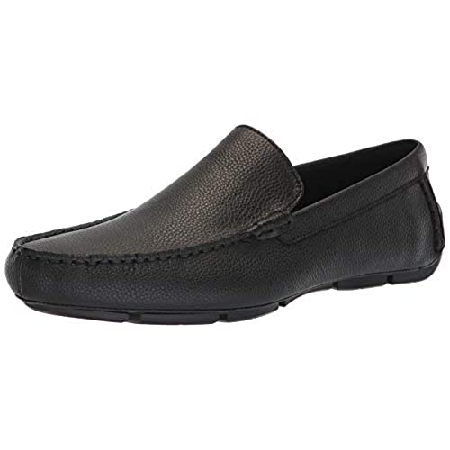 Calvin Klein Men's Kaleb Tumbled Leather Driving Style Loafer