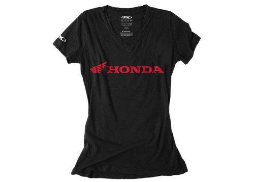 Shirts Honda Motorcycle (Factory Effex 16-88346 Women's 'HONDA' T-Shirt (Black, X-Large))