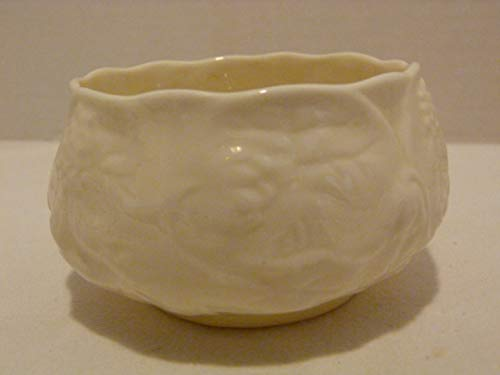 Belleek Vintage Parian China Serenity Open Sugar Bowl 3rd Green Mark Made in Ireland