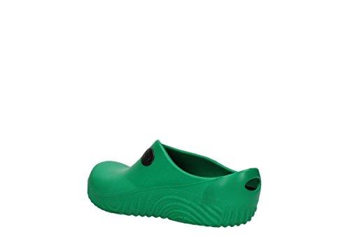 02550 Clog Comfort fluor OK Wolky 90700 green PU Clogs qAvwnp4