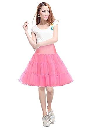 Future Girl 1950s Retro Women skirt Crinoline Skirt Tutu