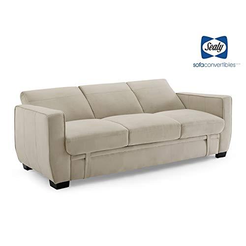 Amazon.com: Sealy Perris Sofá convertible tapizado ...