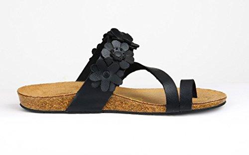 vestir para negro mujer de Sandalias Dilize tgzwqEz
