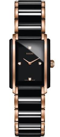 Rado Integral Jubile Ceramic Black Dial Watch R20612712