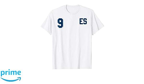 Amazon.com: Retro El Salvador Soccer Jersey Camiseta de Futbol Away 9: Clothing