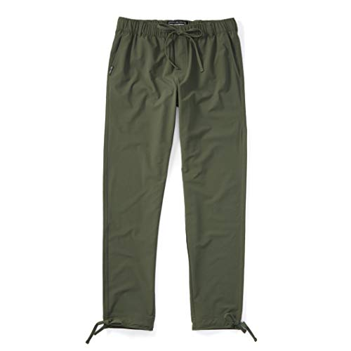 Trailhead Adventure Pant - Durable, Lightweight, Waterproof, Packable for Outdoors, Travel, Climbing, Hiking (Large, Olive)