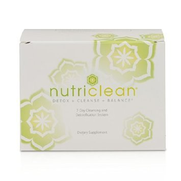Nutriclean Detox Cleanse Balance 7-day Cleansing and Detoxification System