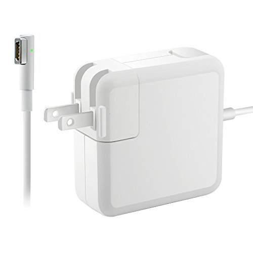 Compatible for MacBook Pro/Air Charger, L-Tip 60W MagsSafe 1 Power Adapter for MacBook/MacBook Air/Pro 11/13inch, L-Shape Magnetic Connector 16.5V 3.65A 60W MS 1 L-Tip/L-Shape