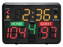 Portable Tabletop Scoreboard Basketball Volleyball Wrestling Lacrosse by CUSTOM