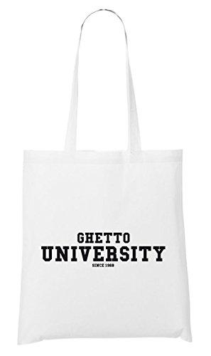 Ghetto University Bag White Certified Freak