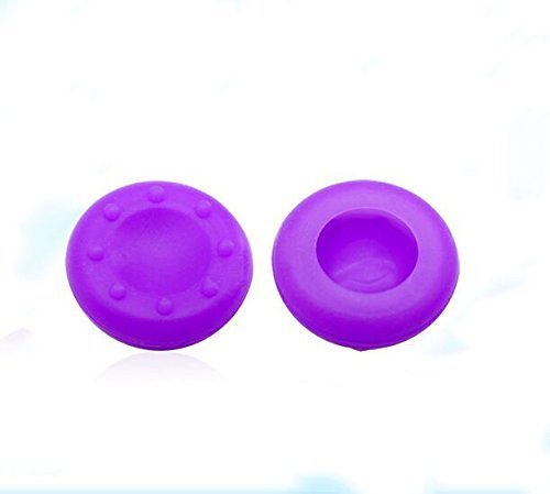 4 x Purple Controller Analog Thumbstick Grip Cover Caps For Sony PS3 PS4 XBOX ONE 360 Wii U
