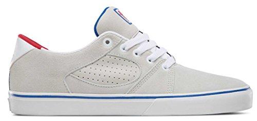 Es Mens Square Three Skate Shoe Grizzly White