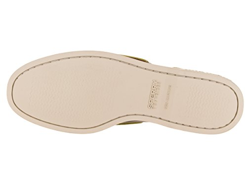 Sperry A/O 2-Eye Leather 0195214 - Mocasines de cuero para hombre Marrón