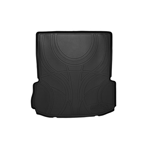 MAX LINER D0082 All Weather Custom Fit Cargo Trunk Liner Floor Mat Behind 2nd Row Black for 2011-2019 Ford Explorer