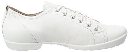 Bianco 282054 96 Mujer Think para Anni Zapatos de Blanco Brogue Cordones OzSpfwx