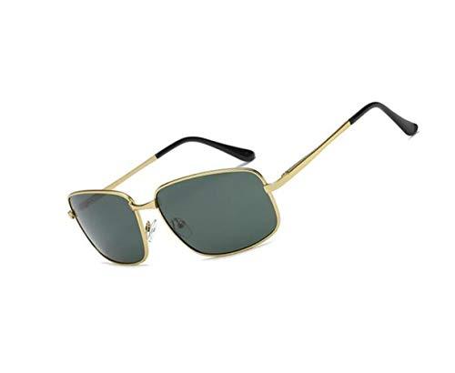 para Polarized UV400 Hombres Classic Eyewear Golden Driving de los de Mujeres Retro sol hombres protección sol Gafas Gafas viajar de de PYBxU4