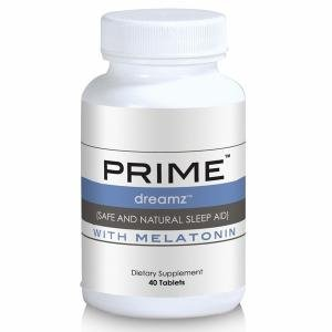 Prime Dreamz - Sleep Aid with Melatonin (40 Tablets)