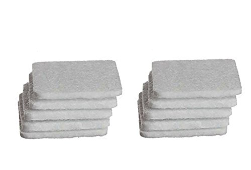 Refill Pads | 10 Count | Use with CPAP Infusion Adapter and Essential Oils | Sold by GEO Oils.