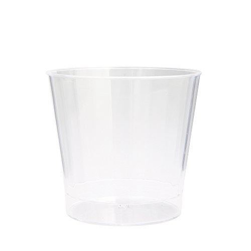 10oz Clear Plastic Tumblers 8ct