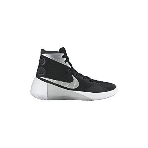 Nike Mens Hyperdunk 2015 TB Basketball Shoe (Black/Anthracite/White/Metallic Silver, 11.5 D(M) US)