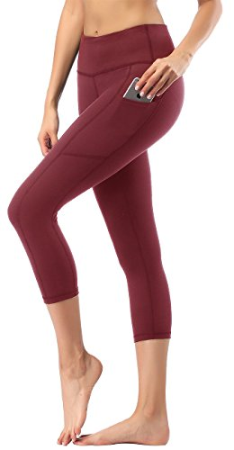 - HOFI Women's High Waist Capri Yoga Pants with Side Pockets & Inner Pocket