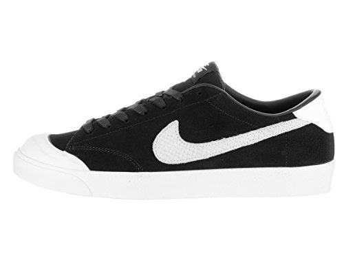 Zoom All Blanco Men Skateboarding Black Nike Black White Multicolour Ck Court Qs dz57qwF