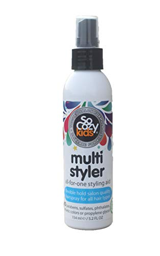 SoCozy Multi Styler for Kid's Hair. Free Of parabens & Sulphates. Safe & Effective for Everyday Styling Of Kid's Hair, 5.2 Oz (Hair Styler For Toddlers Free)