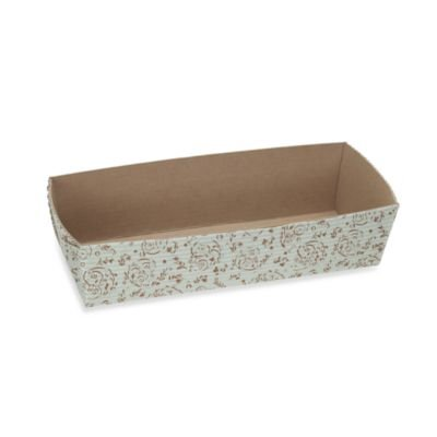 Welcome HomeブラウンBlossom長方形Loaf Baking Pans B00PE9JL8E