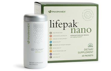 Nu Skin NuSkin Pharmanex LifePak Nano + ageLOC Vitality (1 each) by Pharmanex