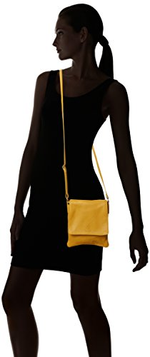 Yellow bandolera Amarillo Paola Mujer Bolso Girly HandBags vqxzB