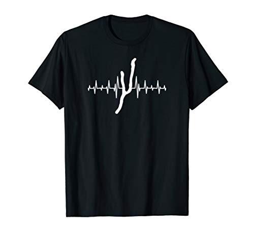 Heartbeat Keuka Lake Tee - Finger Lakes T-shirt - Lake Life ()