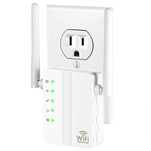 WiFi Range Extender, BTBSZ 300Mbps Fast Speed Mini WiFi Router Repeater 360 Degree Full WiFi Coverage 2.4GHz Supports Router Repeater Access Point Mode