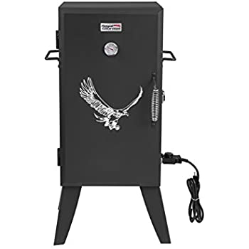 RoyalGourmet 28 Inch Electric Smoker with Adjustable Temperature Control