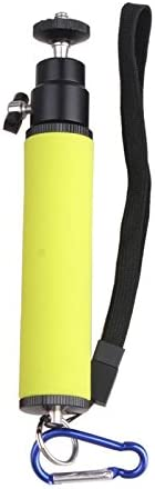 Color : Blue Orange CHENZHIQIANG Camera Accessories Professional LED Flash Light Holder Sponge Steadicam Handheld Monopod with Gimbal for SLR Camera