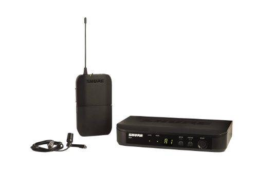 Shure BLX14/CVL Lavalier Wireless System with CVL Lavalier Microphone, J10