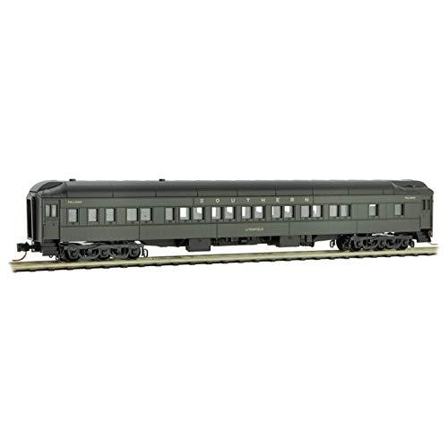 Scale Passenger Car Trucks - Micro-Trains MTL N-Scale Heavy Sleeper Passenger Car Southern #2476 'Litchfield'