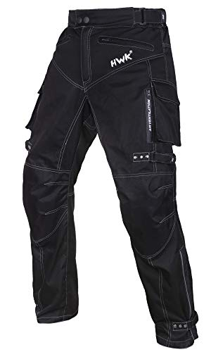 Motorcycle Pants For Men Dualsport Motocross Motorbike Pant Riding Overpants Enduro Adventure Touring Waterproof CE Armored All-Weather (Waist36''-38'' Inseam30'') (Motorcycle Helmet And Boots)