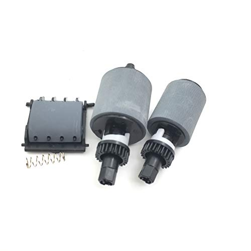 - OKLILI CF288-60016 CF288-60015 CF288-60021 A8P79-65001 ADF Feed Pickup Roller Separation Pad Kit for HP Pro 400 M401 M425 M525 M521 M476 M570 M521 M425DN M425DW M476NW M521DN M521DW M570DN M570DW
