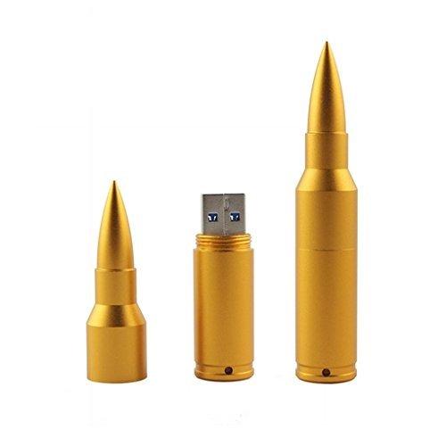 32GB Fold USB 2.0 Flash Memory Stick Pen Drive Thumb Disk Golden - 3