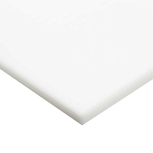 7328 White Acrylic - Online Plastic Supply White (7328) Cast Acrylic Sheet, 0.118 (1/8 inch), 24 inches x 36 inches